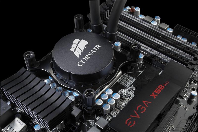 Corsair Hydro Series™ H55 Quiet CPU Cooler (CW-9060010-WW)