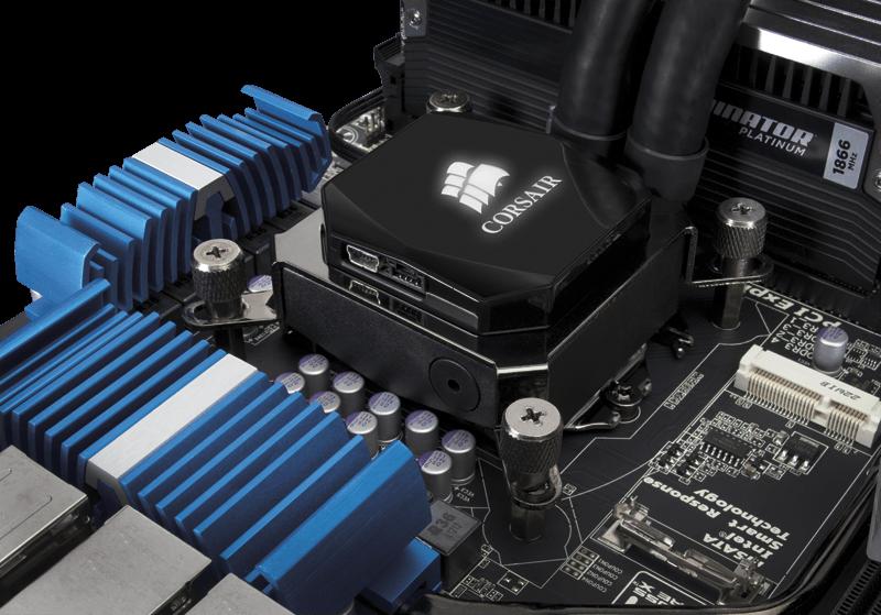 Corsair Hydro Series H80i High Performance Liquid CPU Cooler CW-9060008-WW