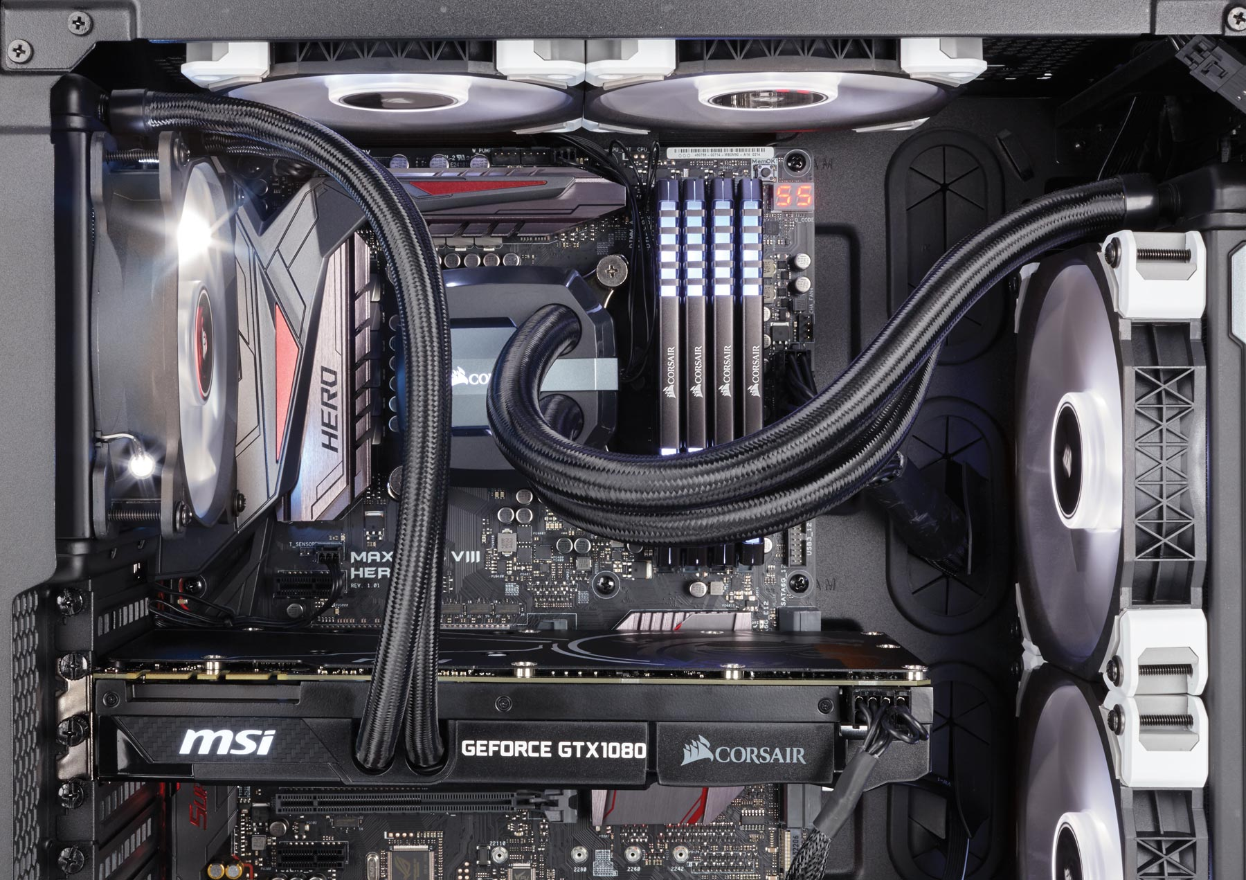 The All In One Gpu Liquid Cooling Package From Msi And