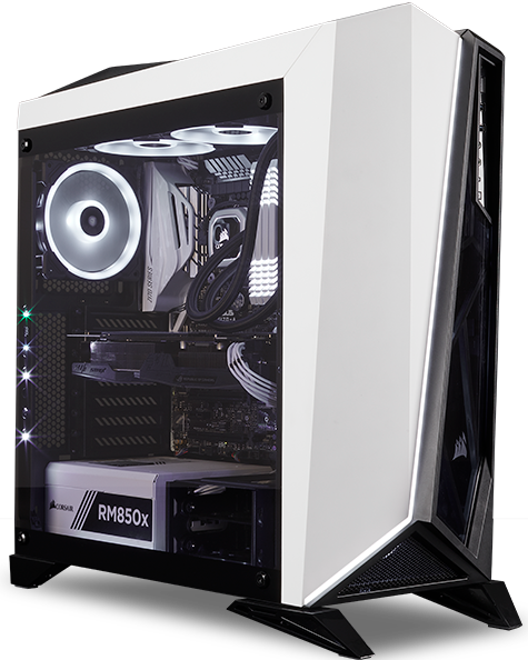Spec Omega Tempered Glass Mid Tower Atx Case