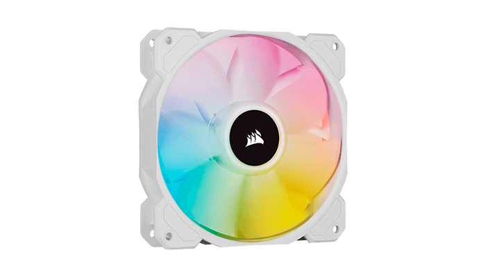 iCUE SP RGB ELITE Performance White PWM Fans
