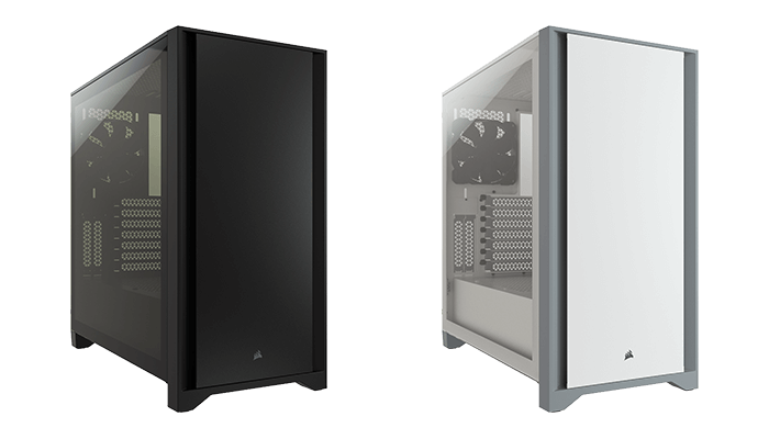 CORSAIR 4000D Tempered Glass Mid-Tower ATX Case