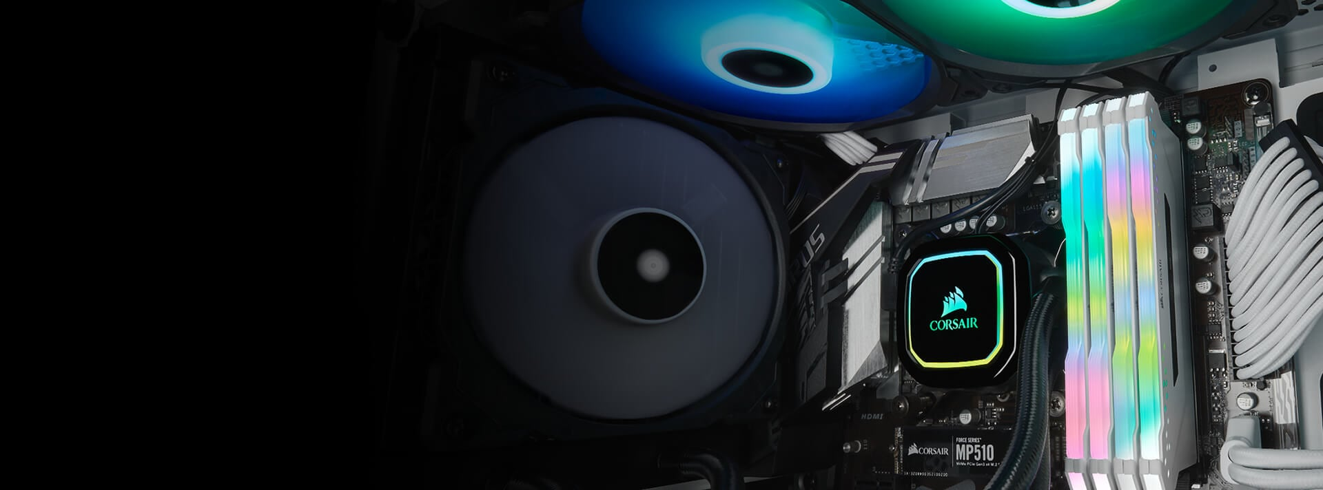 CORSAIR iCUE H60i PRO XT LIQUID CPU COOLER