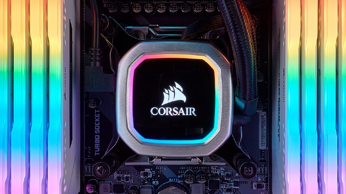 CORSAIR Hydro Series Platinum クーラー