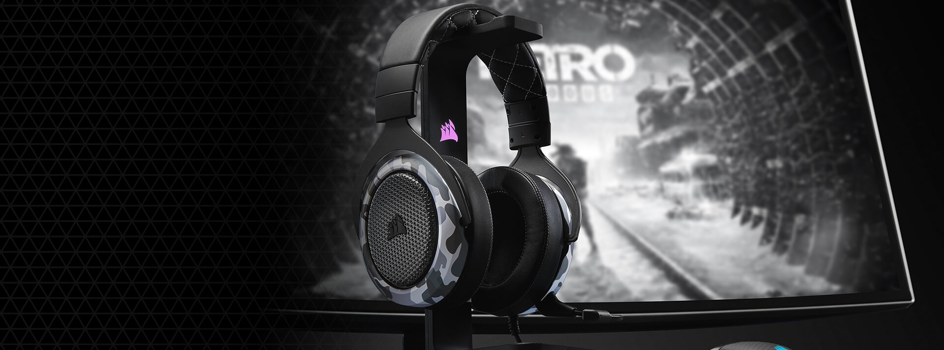 CORSAIR HS60 HAPTIC GAMING HEADSET