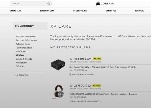 Premium Service Screenshot