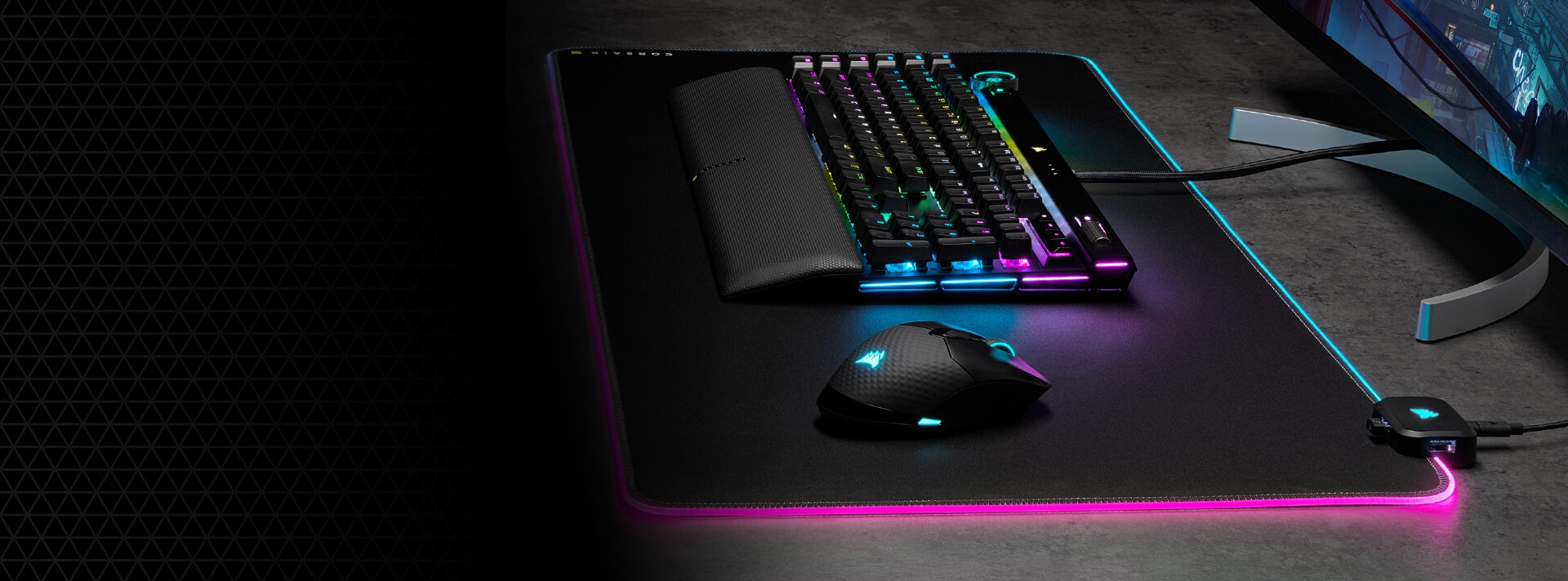 CORSAIR GAMING MOUSE PADS