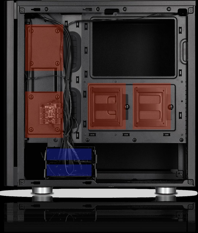 Black CORSAIR Carbide Series 275Q ATX Mid-Tower Case