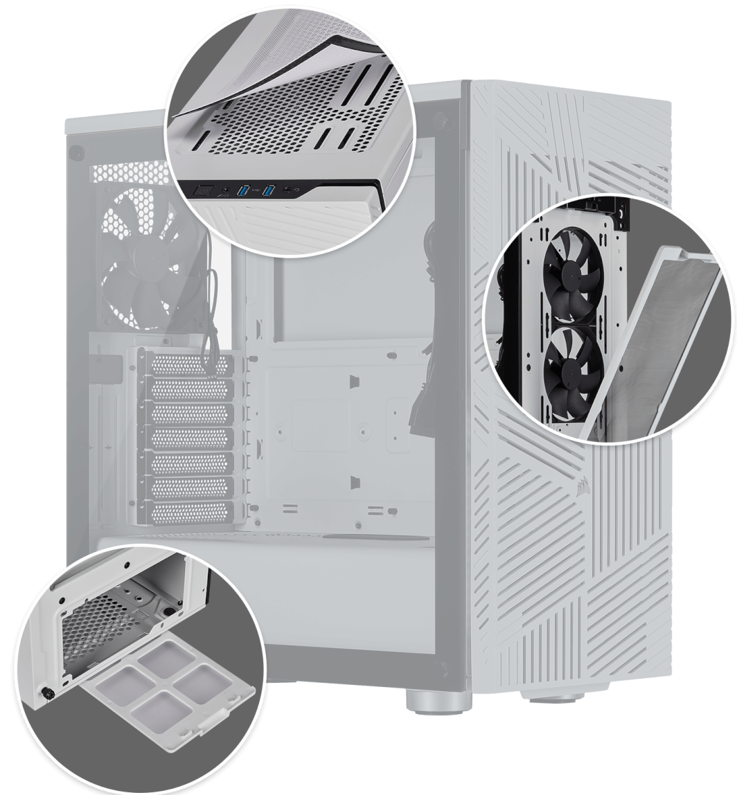 275r airflow wht filters