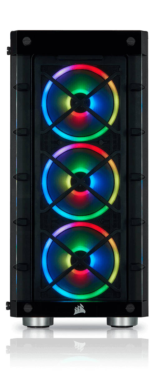 iCUE 465X RGB AIRFLOW - BA BA SP120 RGB PRO INCLUDED