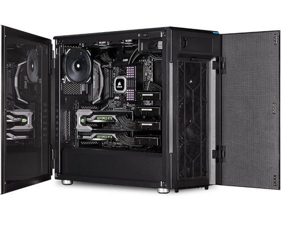 Carbide Series 678c Low Noise Tempered Glass Atx Case Black