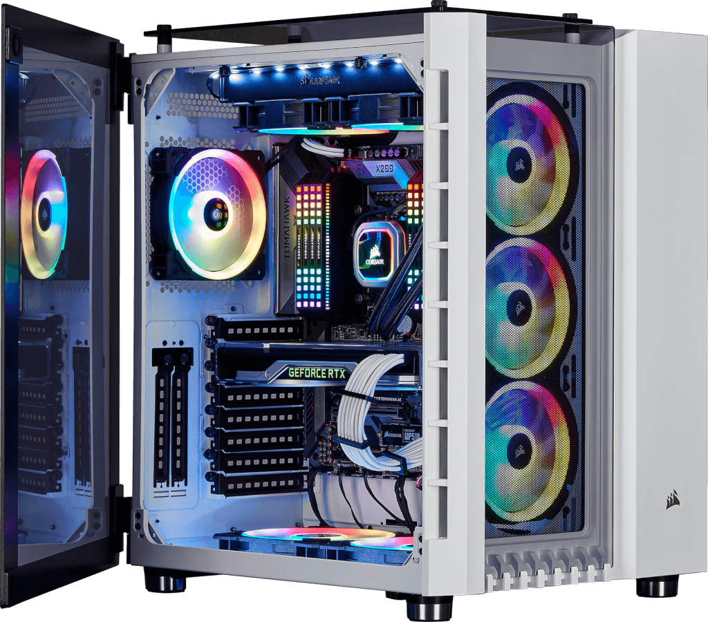 Crystal Series 680x Rgb Atx High Airflow Tempered Glass