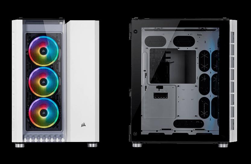 Crystal Series 680X RGB ATX High Airflow Tempered Glass