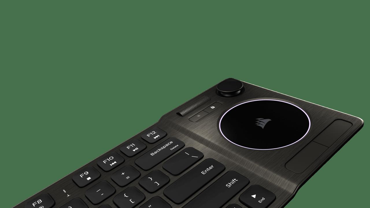Molette de contrôle du volume en aluminium Corsair K83