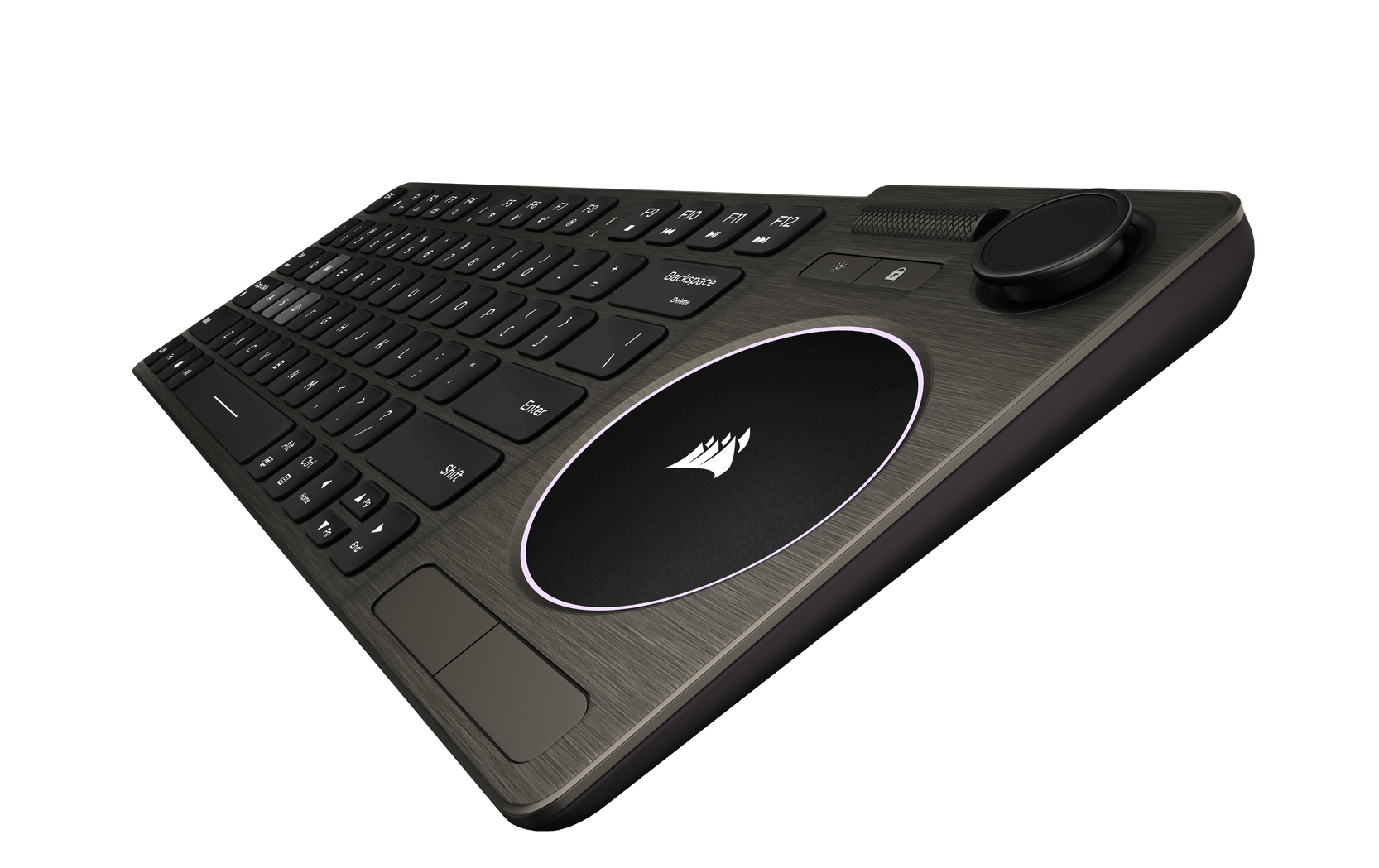 Touchpad de precisão do Corsair K83