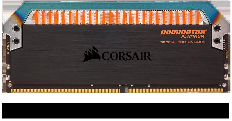 Corsair DOMINATOR PLATINUM RGB 32GB (2 x 16GB) DDR4 DRAM 3200MHz C16 AMD Ryzen Memory Kit 12