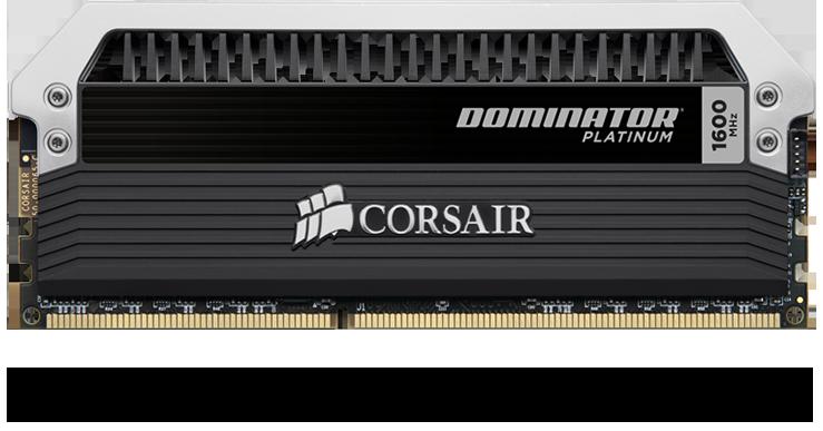 Corsair DOMINATOR PLATINUM RGB 32GB (2 x 16GB) DDR4 DRAM 3200MHz C16 Memory Kit 9