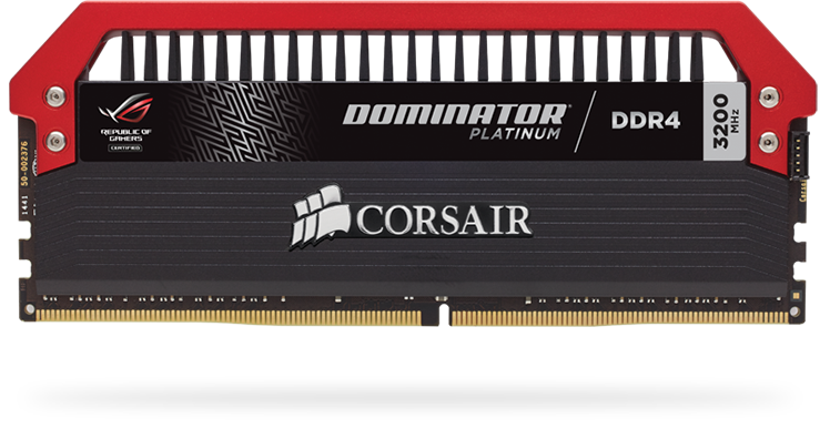 Corsair DOMINATOR PLATINUM RGB 32GB (2 x 16GB) DDR4 DRAM 3200MHz C16 AMD Ryzen Memory Kit 11
