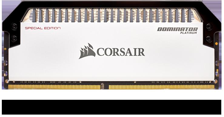 Corsair DOMINATOR PLATINUM RGB 32GB (2 x 16GB) DDR4 DRAM 3200MHz C16 Memory Kit 13
