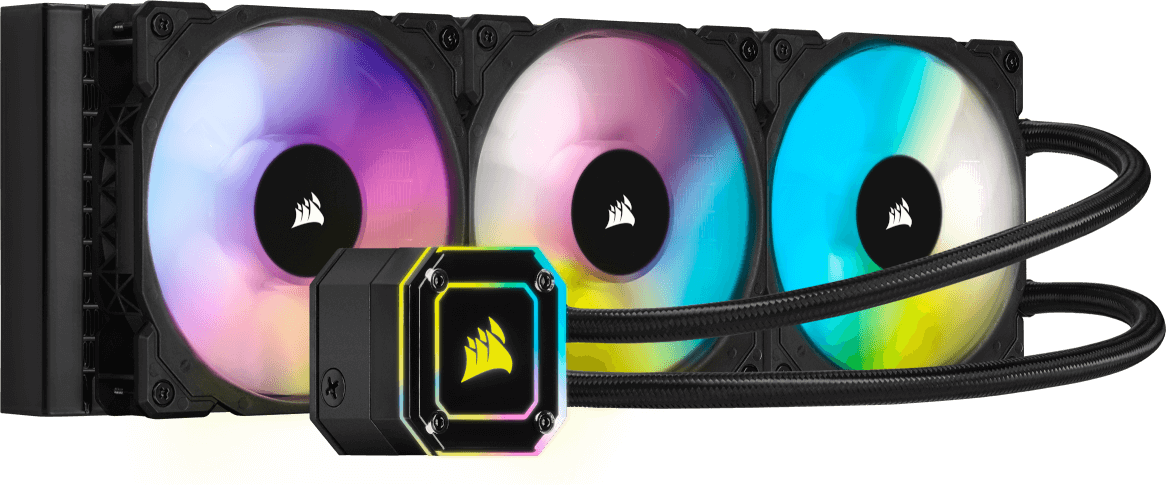 CORSAIR iCUE H115i ELITE CAPELLIX COOLER - CAPELLIX LIT, HIGH-PERFORMANCE RGB PUMP HEAD