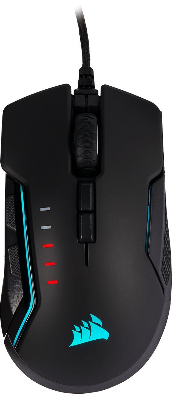 Mouse Gamer Corsair Glaive RGB Pro, Alámbrico, USB, 18.000DPI, Negro