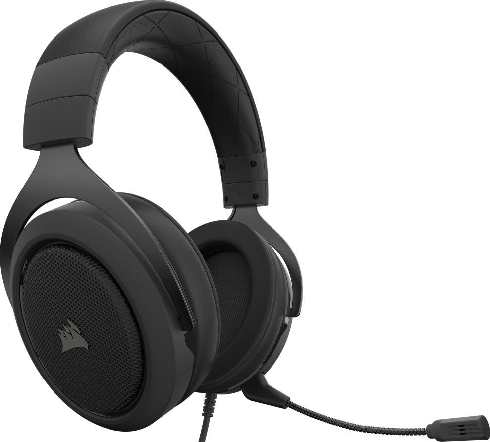 Corsair HS50 PRO STEREO Gaming Headset — Carbon 11