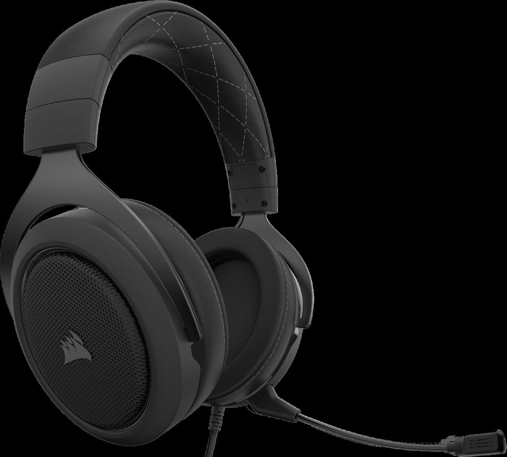 Corsair HS60 PRO SURROUND Gaming Headset — Carbon 11
