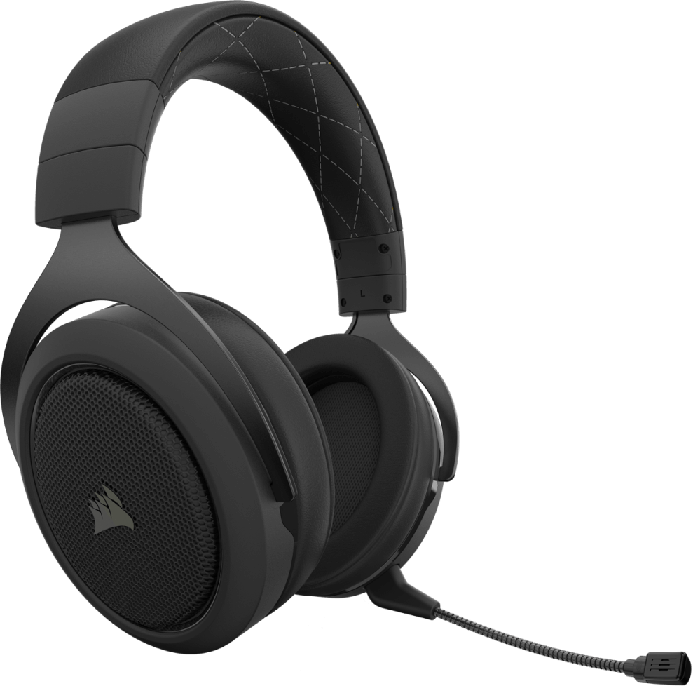 Corsair HS70 PRO WIRELESS Gaming Headset — Carbon 12
