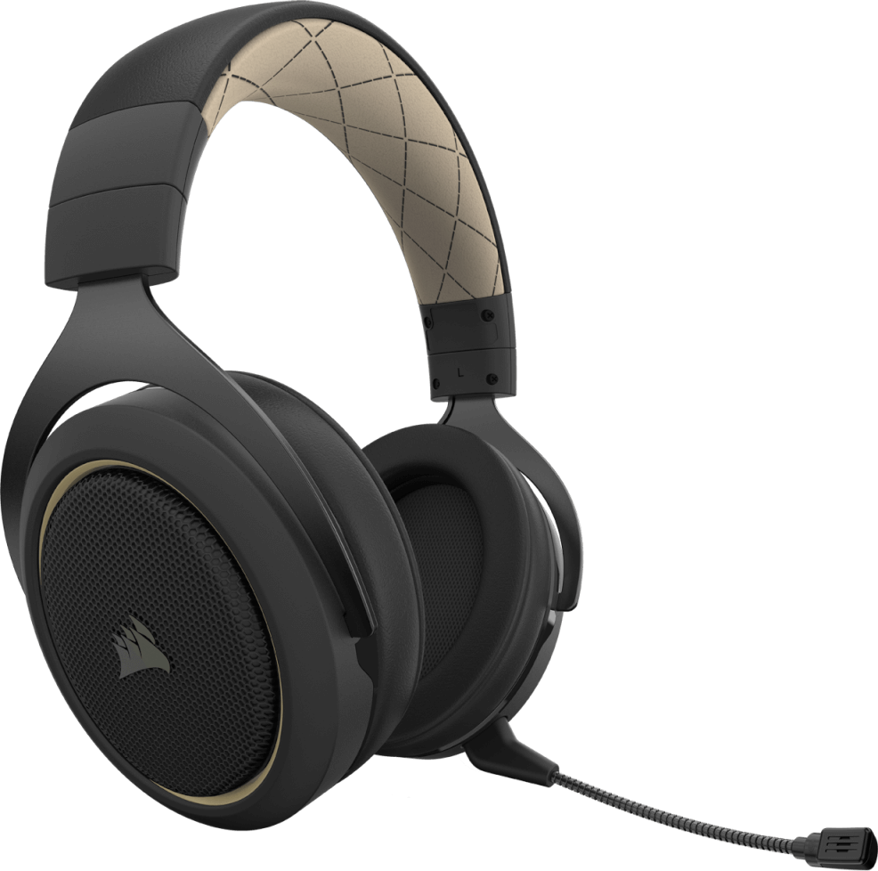 Corsair HS70 PRO WIRELESS Gaming Headset — Cream 12