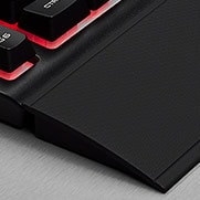 CORSAIR K55 RGB GAMING KEYBOARD - Detachable Palm Rest
