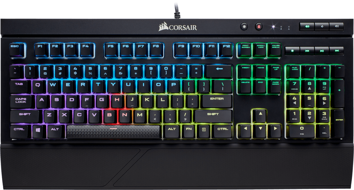 K68 RGB Mechanical Gaming Keyboard — CHERRY® MX Red