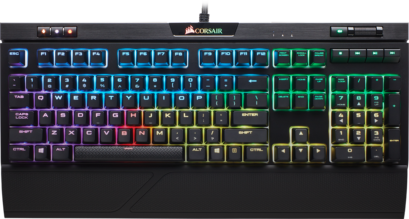 K70 RGB MK.2 Low Profile Gaming Keyboard (MX Speed) 3