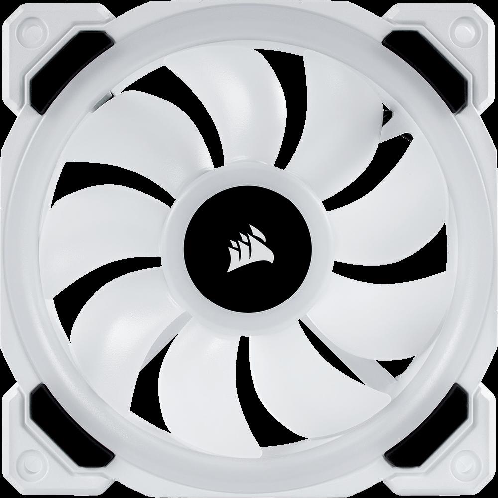 Ll120 Rgb 120mm Dual Light Loop White Rgb Led Pwm Fan