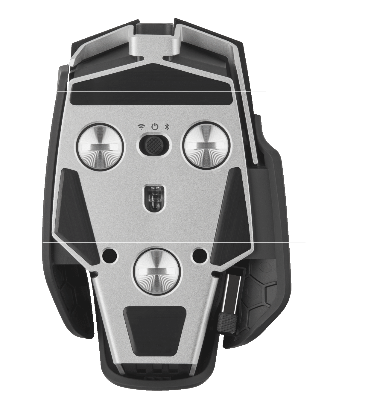 M65 Wireless Mouse Dimensions
