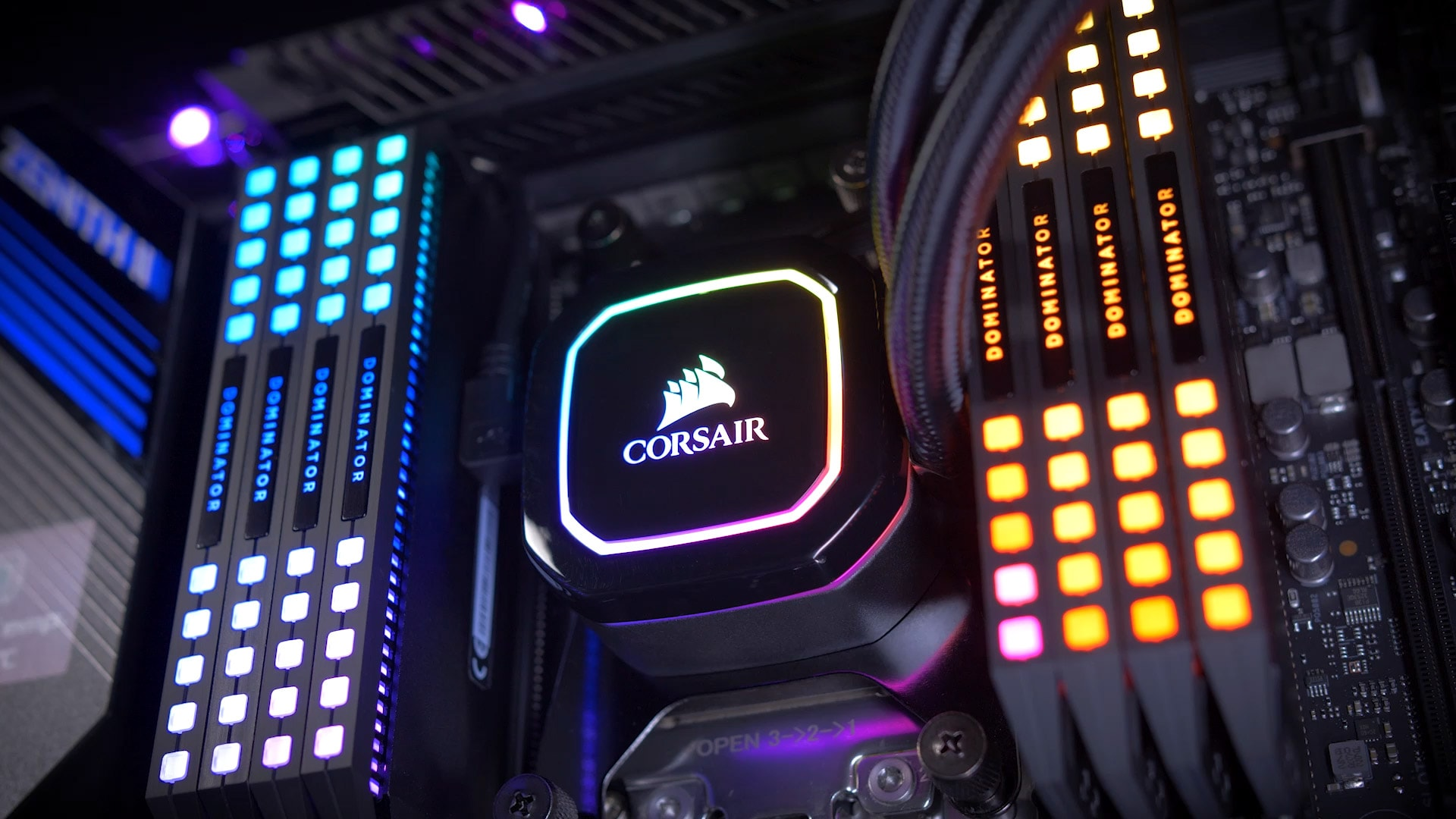 CORSAIR H100I AMD X2 HOOKS FOR CPU