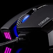 CORSAIR SCIMITAR PRO RGB MMO MOUSE - Dynamic Four-Zone RGB Backlighting
