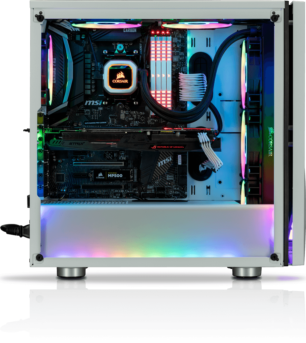 Simple and intuitive internal layout enables easy and quick building. A dedicated cable routing compartment and PSU cover enables effortlessly clean builds.