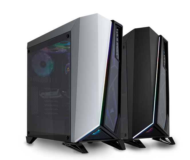 Carbide Series Spec Omega Rgb Mid Tower Tempered Glass