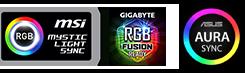 Corsair VENGEANCE® RGB PRO 32GB (2 x 16GB) DDR4 DRAM 3200MHz C16 Memory Kit — Black - CMW32GX4M2E3200C16 8