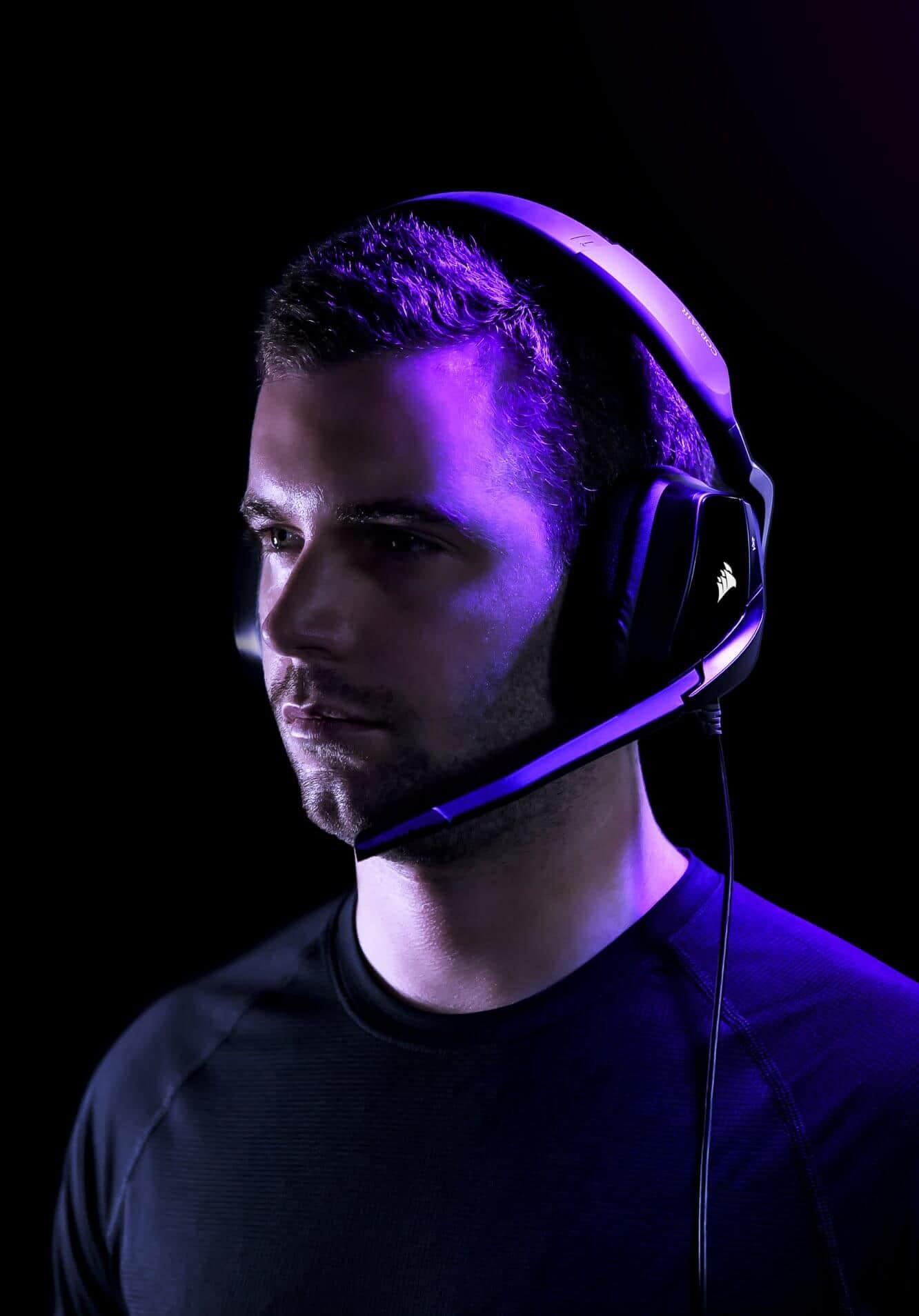 Corsair VOID RGB ELITE USB Premium Gaming Headset with 7.1 Surround Sound — White 19