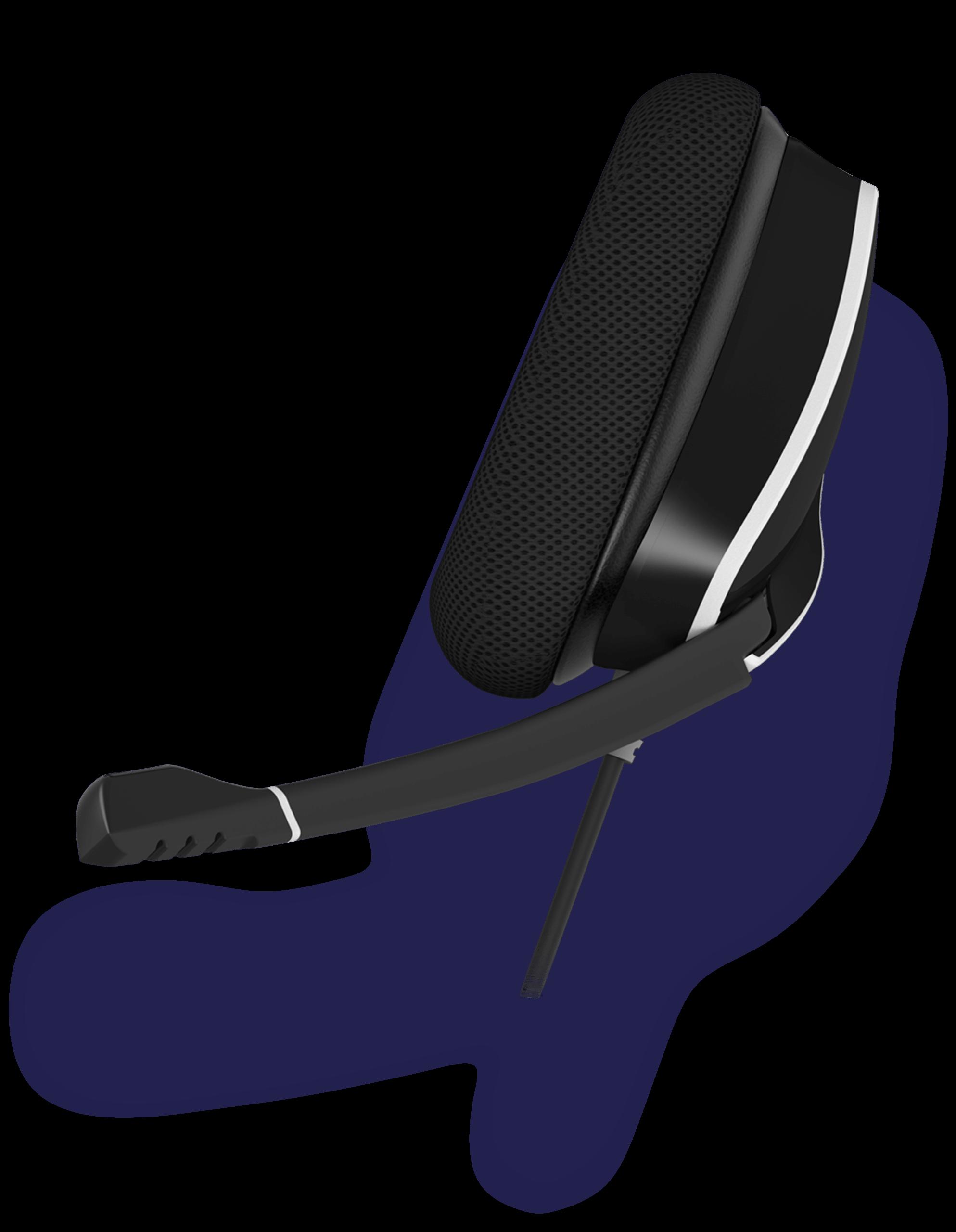Corsair VOID RGB ELITE USB Premium Gaming Headset with 7.1 Surround Sound — White 22