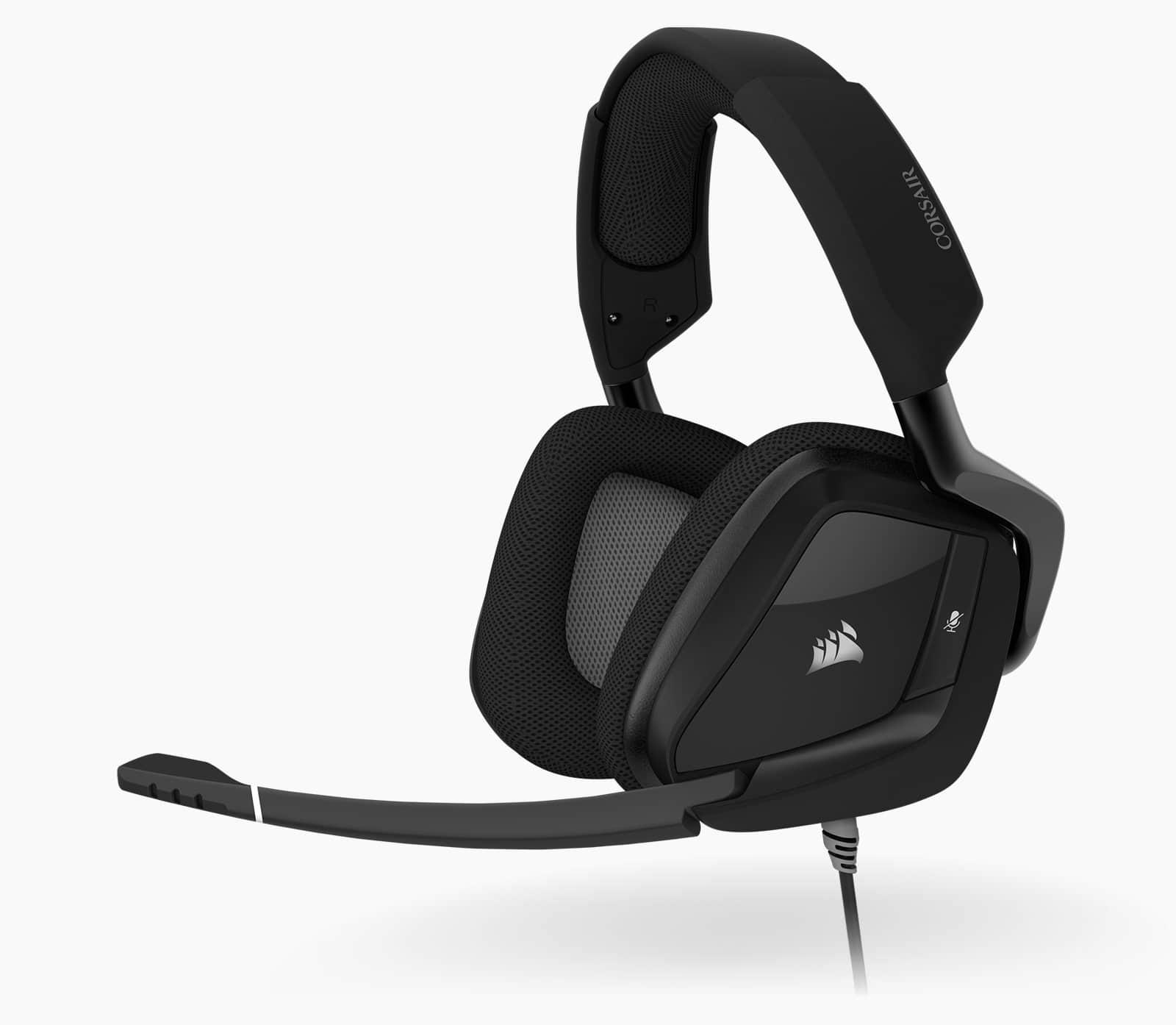Corsair VOID RGB ELITE USB Premium Gaming Headset with 7.1 Surround Sound — Carbon 14