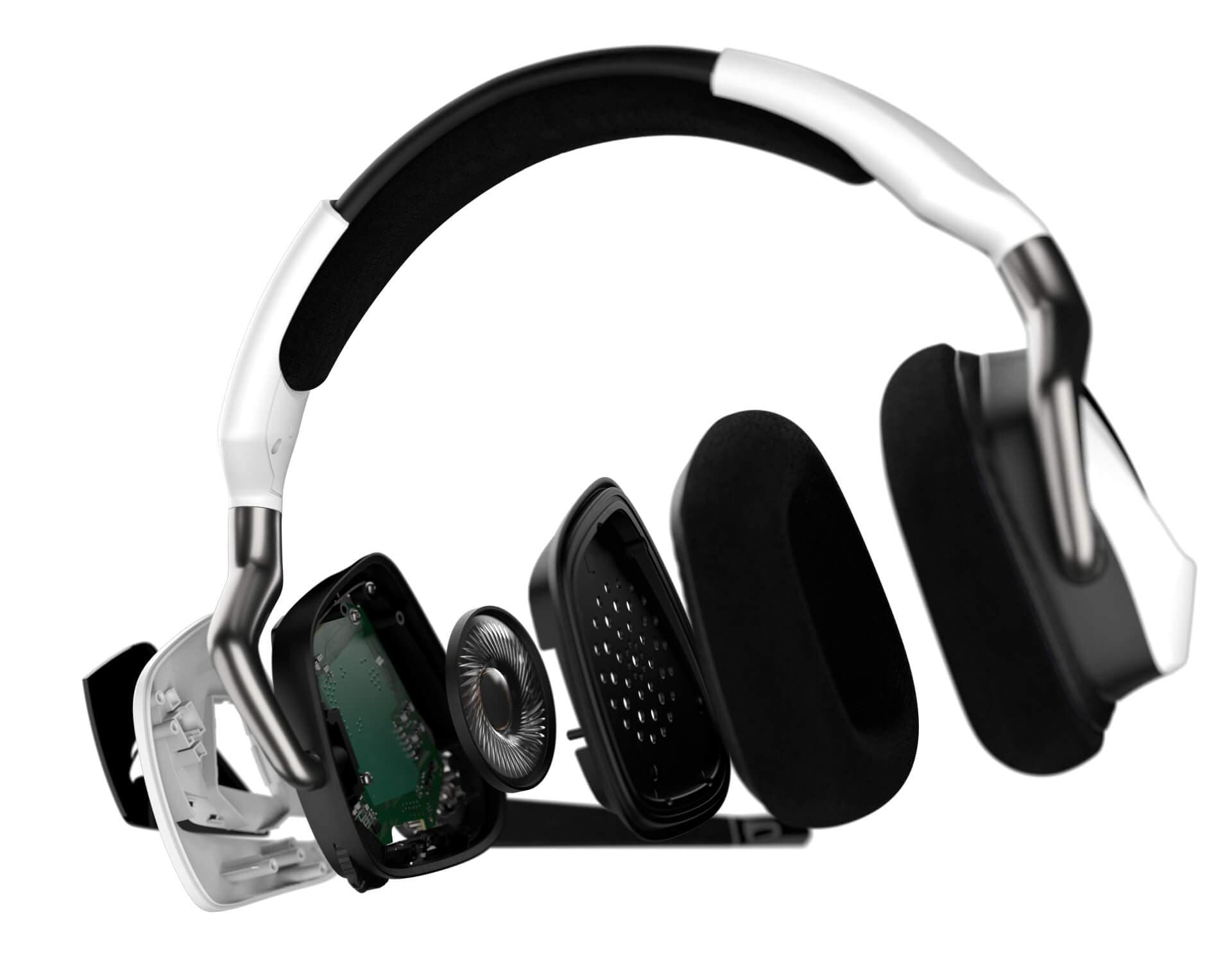 Corsair VOID RGB ELITE USB Premium Gaming Headset with 7.1 Surround Sound — White 18