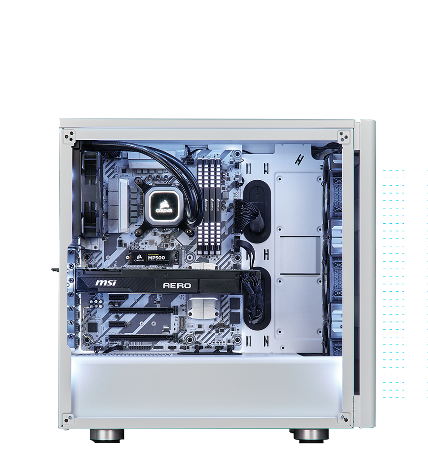 Carbide Series 275R Mid-Tower Gaming Case | Gaming PC Cases
