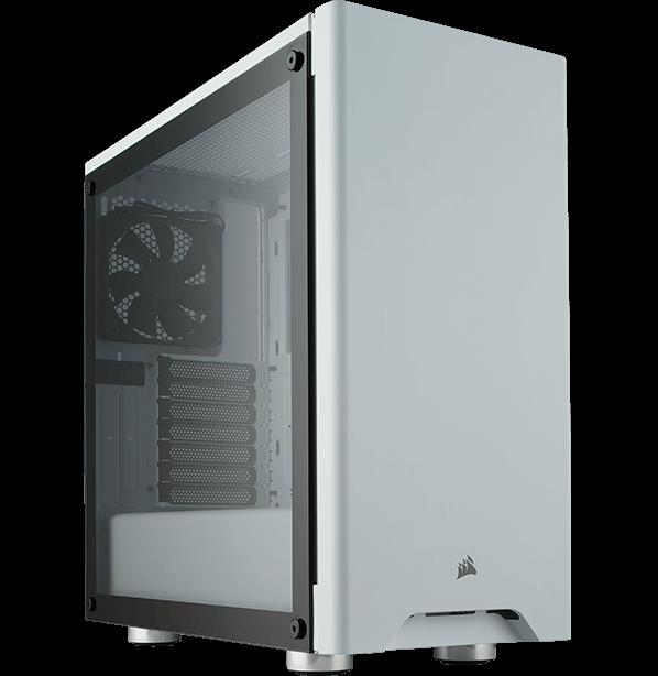 Caja Atx Corsair Carbide 275R Vid Temp  Blanca