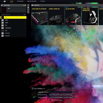 iCUE: Intelligent control, unlimited possibilities | Software | CORSAIR